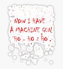 Machine Gun Sticker