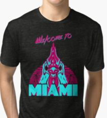 Welcome to Miami - I - Richard Tri-blend T-Shirt
