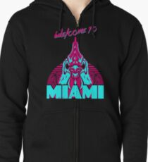 Welcome to Miami - I - Richard Zipped Hoodie