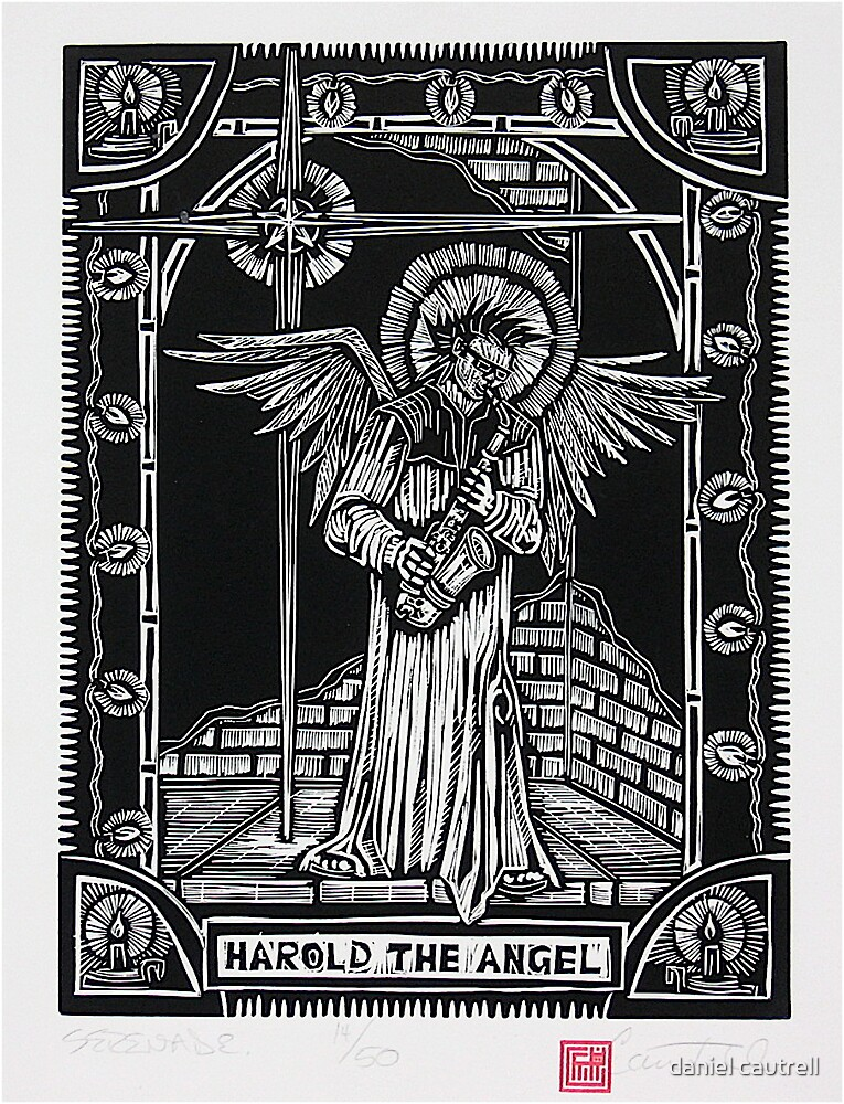 Holiday Series, Harold The Angel by daniel cautrell