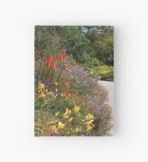 Garden Flowers in Summer Hardcover Journal