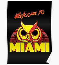 Welcome to Miami - III - Rasmus Poster