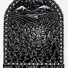 Holiday Series, Peace Among The Trees by daniel cautrell