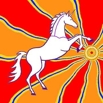 Unicorn Rising by DreamLizard