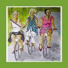 fietsvriendinnen by pobsb
