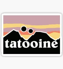 Tatooine Patagonia Sticker