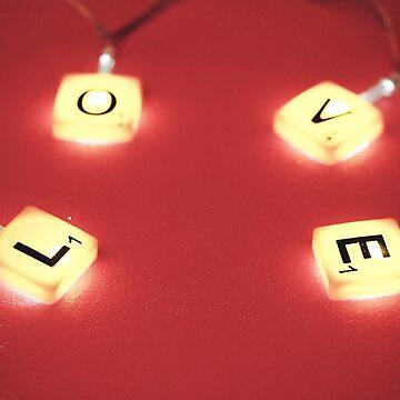 Scrabbling For Love by Jam-Gloom