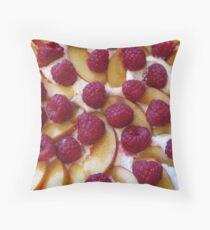 Fruit Pudding Throw Pillow