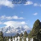 Forest Peak Retreat, Flagstaff Image with verse by SHERYL DAWSON