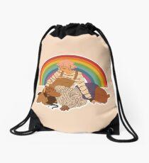 gentle love Drawstring Bag