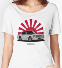 2000 GT-R (silver) Women's Relaxed Fit T-Shirt