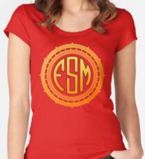 FSM - FLYING SPAGHETTI MONSTER Women's Fitted Scoop T-Shirt
