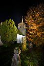 St James' Church at Night by Nigel Bangert