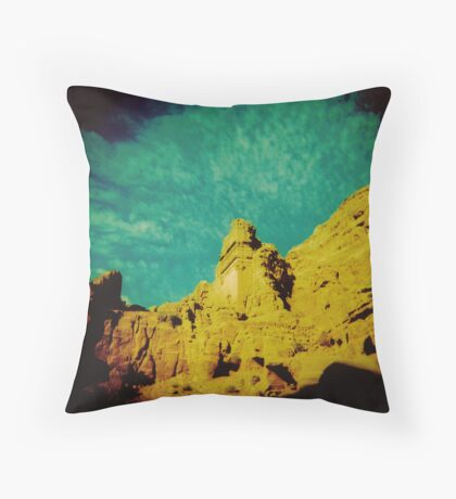 Half as old as time Throw Pillow