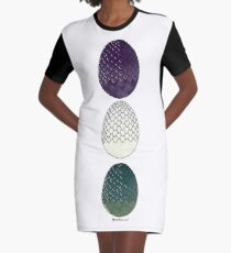 Game of Thrones Dragon Eggs Graphic T-Shirt Dress