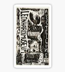 Abstract Constructivism Bauhaus Sticker