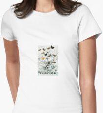 Abstract Constructivism Bauhaus Women's Fitted T-Shirt