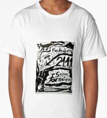 Abstract Constructivism Bauhaus Long T-Shirt