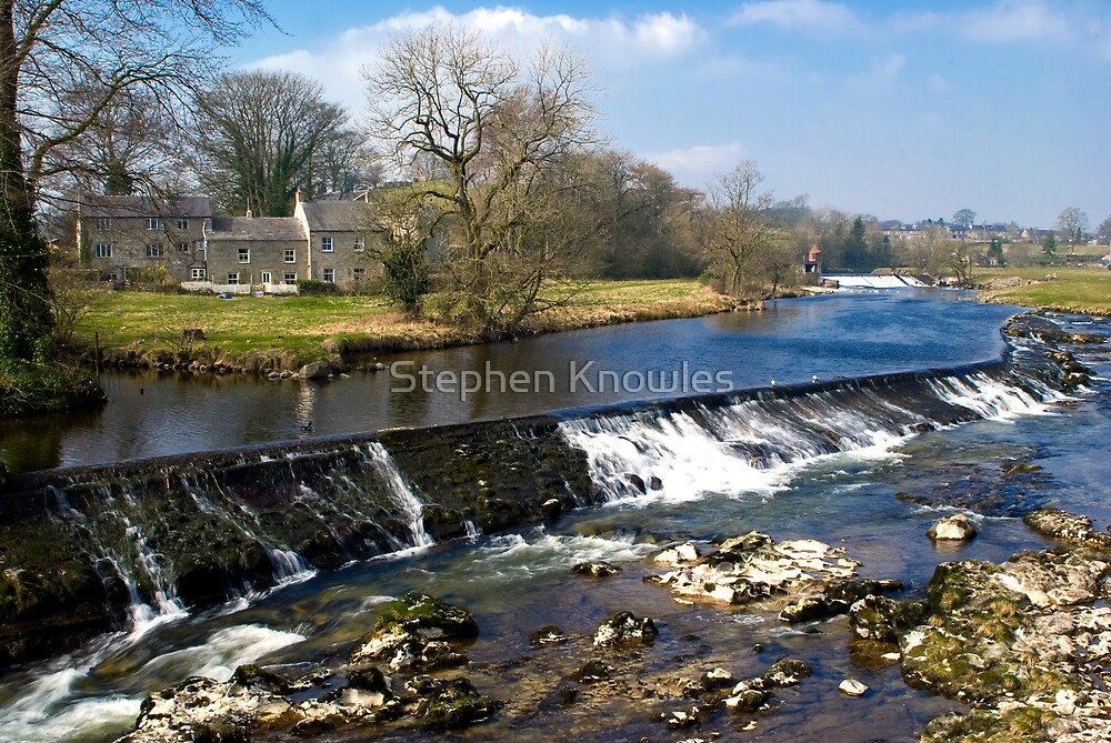 Wier at Litton by Stephen Knowles