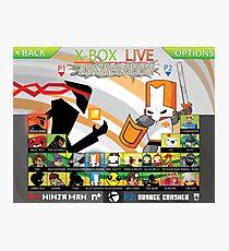 X-Box Live Armageddon Photographic Print