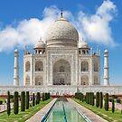 Taj Mahal north side. by bulljup
