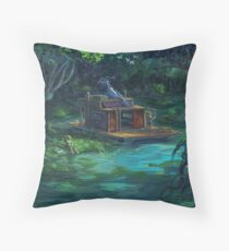 The Waterway Throw Pillow