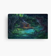 The Waterway Canvas Print