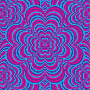 Kaleidoscopic Clovers by Senza
