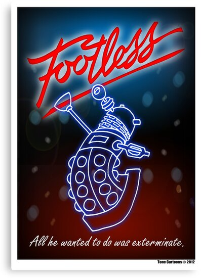 Footless - All he wanted to do was exterminate! by ToneCartoons