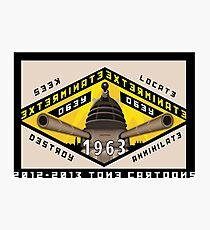Battleship Dalek 1963 Photographic Print