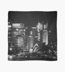 Sydney City Skyline B&W Scarf