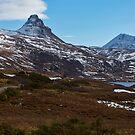 Stac Pollaidh and Cul Mor, Loch Bad a Ghaill, Inverpolly by derekbeattie