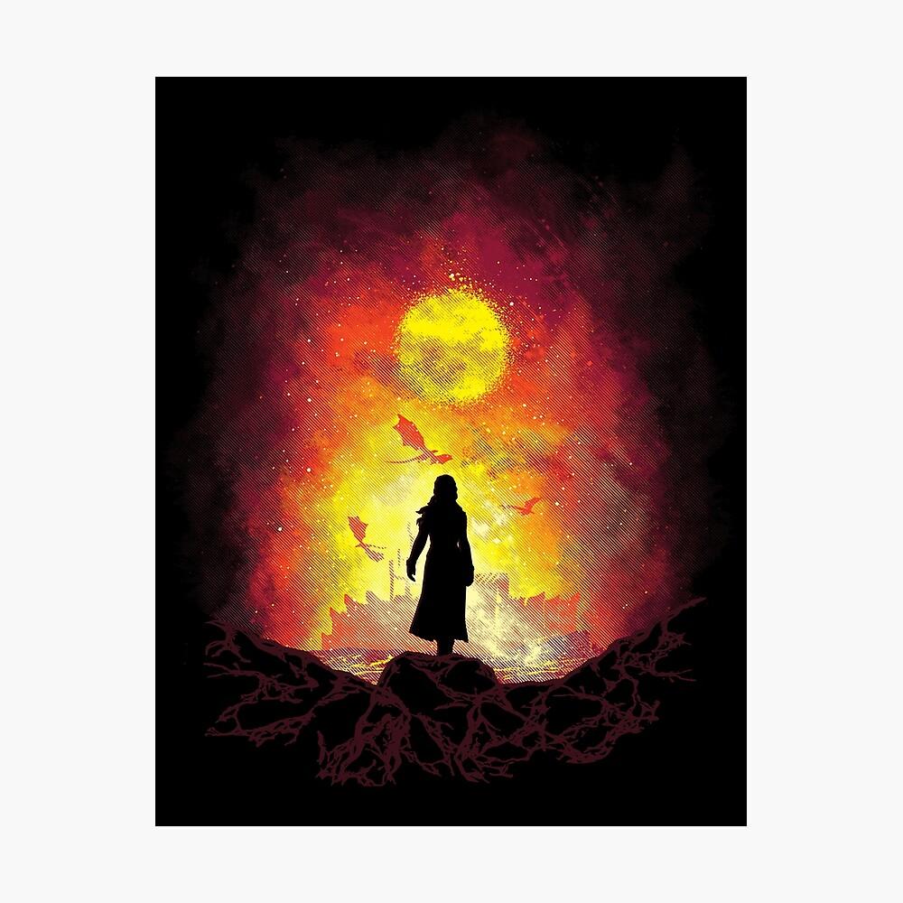 Born Of Fire Photographic Print