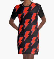 Bowie Symbolic Graphic T-Shirt Dress