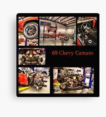 69 Chevy Convert.Camaro Canvas Print