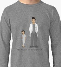 The Subject and the Scientist (Hopeful Look) Lightweight Sweatshirt