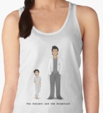 The Subject and the Scientist (Hopeful Look) Women's Tank Top