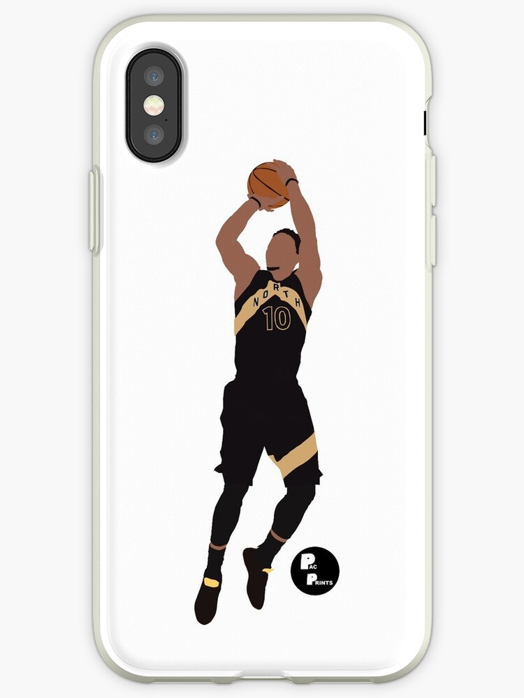 low priced 67547 8806e 'Demar Derozan Minimalist Art // Phone cases, shirts, stickers, and more'  iPhone Case by PacPrints