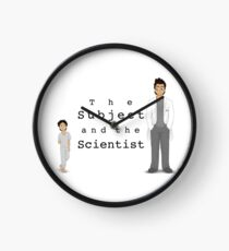 Another The Subject and the Scientist Piece Clock