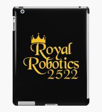 Royal Robotics Krone Logo iPad-Hülle & Klebefolie