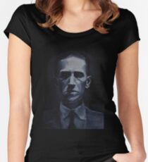 HP Lovecraft Women's Fitted Scoop T-Shirt