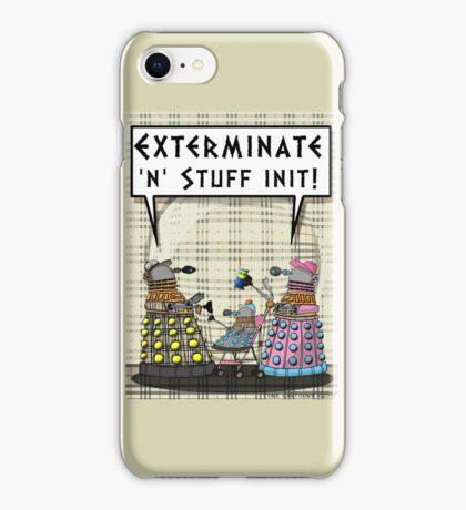 Chav Daleks iPhone Case/Skin