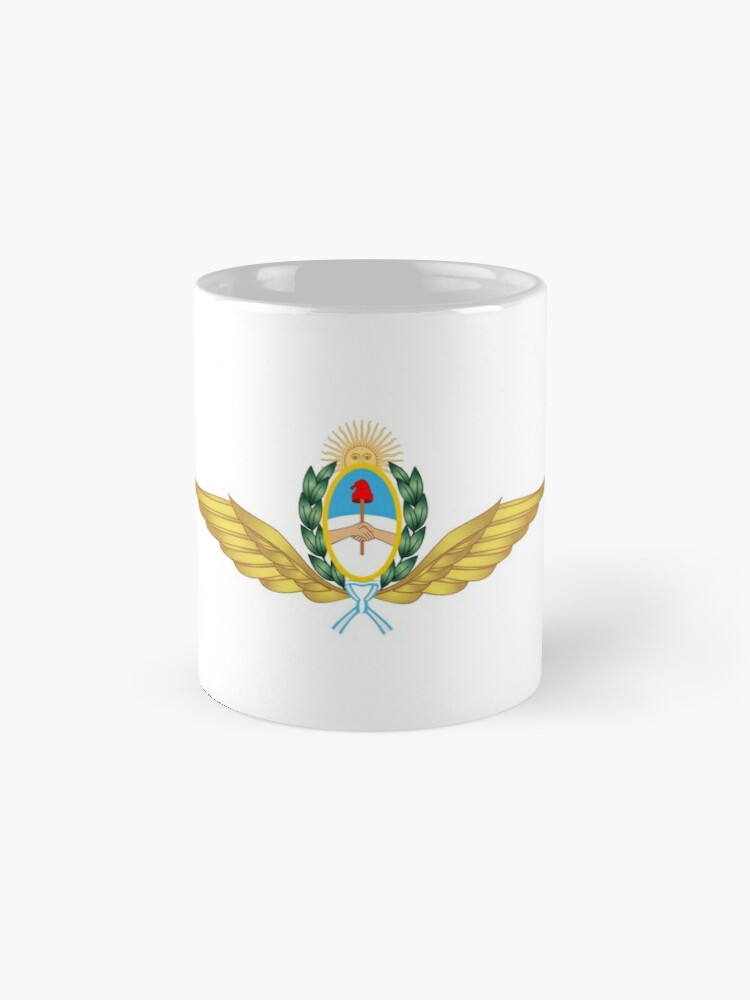 Alternate view of The Argentine Air Force Emblem Mugs