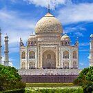 Taj Mahal riverside. by bulljup