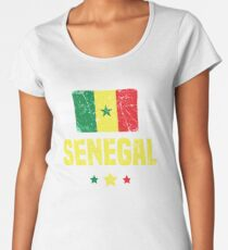 Senegal Flag Apparel Women's Premium T-Shirt