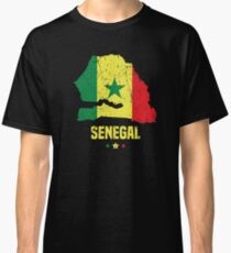 Senegal Flag Apparel Classic T-Shirt