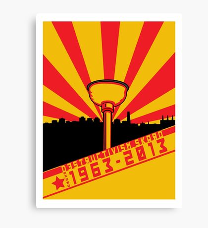 Dalek Destructivism Canvas Print
