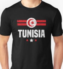 Tunisia Flag Apparel Unisex T-Shirt