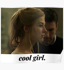 Gone Girl - cool girl. Poster