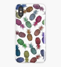 Hawaiian Pineapple Watercolor Pattern iPhone Case/Skin
